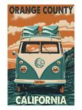 Orange County  California - VW Van