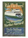 Martha's Vineyard  Massachusetts - Ferry Ride