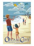 Ocean City  Maryland - Kite Flyers