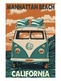 Manhattan Beach  California - VW Van
