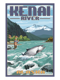 Kenai River  Alaska - Salmon Fisherman