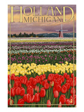 Holland  Michigan - Tulip Fields