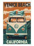 Venice Beach  California - VW Van