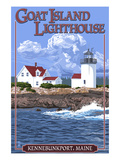 Kennebunkport  Maine - Goat Island Lighthouse
