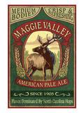 Maggie Valley  North Carolina - Elk Pale Ale