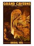 Grottoes  Virginia - Grand Caverns - Bridal Veil
