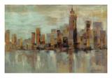 Jour brumeux à Manhattan Reproduction d'art par Silvia Vassileva