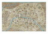 Monuments of Paris Map