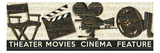 Cinema Reproduction d'art par Pela