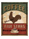 Coffee Blend Label III