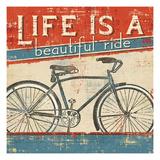 Beautiful Ride I Giclée premium par Pela