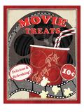 At the Movies II Giclée premium par Veronique Charron