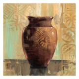Glazed Pot II Decorative Accents