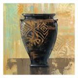 Glazed Pot III Decorative Accents