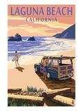 Laguna Beach  California - Woody on Beach