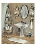 French Bath I Giclée premium par Silvia Vassileva