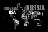 World Text Map
