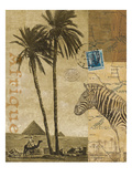 Voyage to Africa Reproduction d'art par Hugo Wild