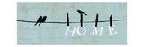 Birds on a Wire Giclée premium par Pela