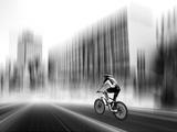 The Biker Reproduction d'art par Josh Adamski