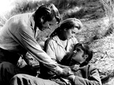 Love Me Tender  Richard Egan  Debra Paget  Elvis Presley  1956  Dying