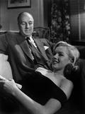 The Asphalt Jungle  Louis Calhern  Marilyn Monroe  1950