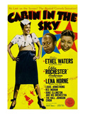 Cabin In The Sky  Lena Horne  Eddie 'Rochester' Anderson  Ethel Waters  1943