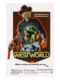 Westworld  Yul Brynner  James Brolin  Richard Benjamin  1973
