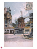 1906 carte postale Moulin Rouge