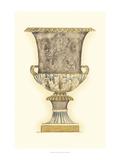 Croquis d'une urne poussiéreuse III Reproduction d'art par Jennifer Goldberger