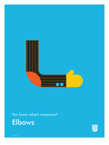 You Know What's Awesome Elbows (Blue)
