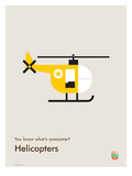 You Know What's Awesome Helicopters (Gray)
