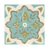 Rustic Tiles II Reproduction d'art par Chariklia Zarris
