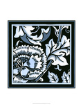 Blue and White Floral Motif III