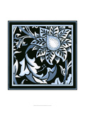 Blue and White Floral Motif II