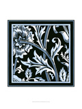 Blue and White Floral Motif IV