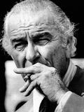 Former President Lyndon Johnson Resumed Smoking after He Left the Presidency