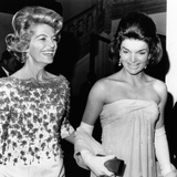 Jacqueline Kennedy with the Wife of the French Ambassador  Nicole Alphand