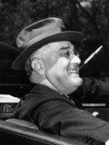 President Franklin Roosevelt  Debonair with His Cigarette Holder  1939