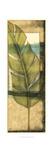 Seaside Palms V - Gold Leaf Reproduction d'art par Jennifer Goldberger