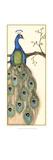 Rebecca's Peacock I Reproduction d'art par Jennifer Goldberger