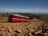 Pikes Peak  Colorado  USA