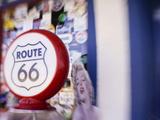 Artistic Blur  Route 66  Seligman  Arizona  USA