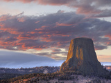 Devils Tower National Monument  Wyoming  USA