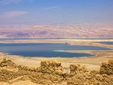 Masada Ruins  Dead Sea  Israel