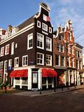 Traditional Dutch Architecture  Amsterdam  Netherlands
