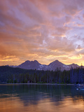 Redfish Lake  Sawtooth National Recreation Area  Idaho  USA