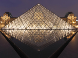 The Pyramide Du Louvre  Paris  France