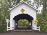 Neal Lane Covered Bridge  Jacksonville  Oregon  USA