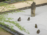 Rock Garden  Portland Japanese Garden  Oregon  USA